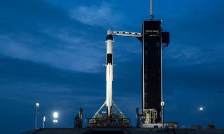 En vivo, lanzamiento del Falcon 9 de SpaceX con tripulación a bordo