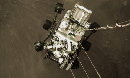 Aterriza con éxito en Marte el Rover Perseverance de la NASA